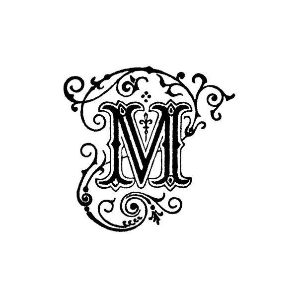 Beach letter m clipart individual png transparent download M - Decorative Letter M Clipart found on Polyvore | Sewing | Glass ... png transparent download