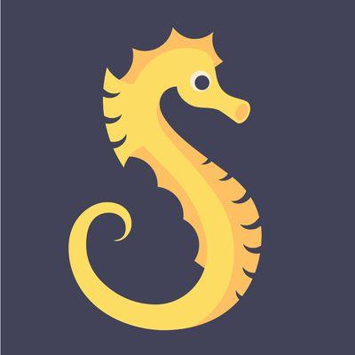 Beach letter s clipart individual clip art download Letter S // Animal Alphabet // Seahorse Art Print   letters and ... clip art download
