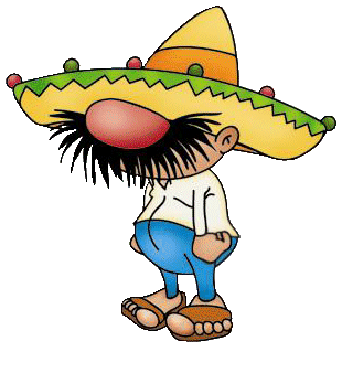 Beach mexican guy clipart clipart freeuse stock funny mexican cartoon characters | Cartoon Mexican People Two ... clipart freeuse stock