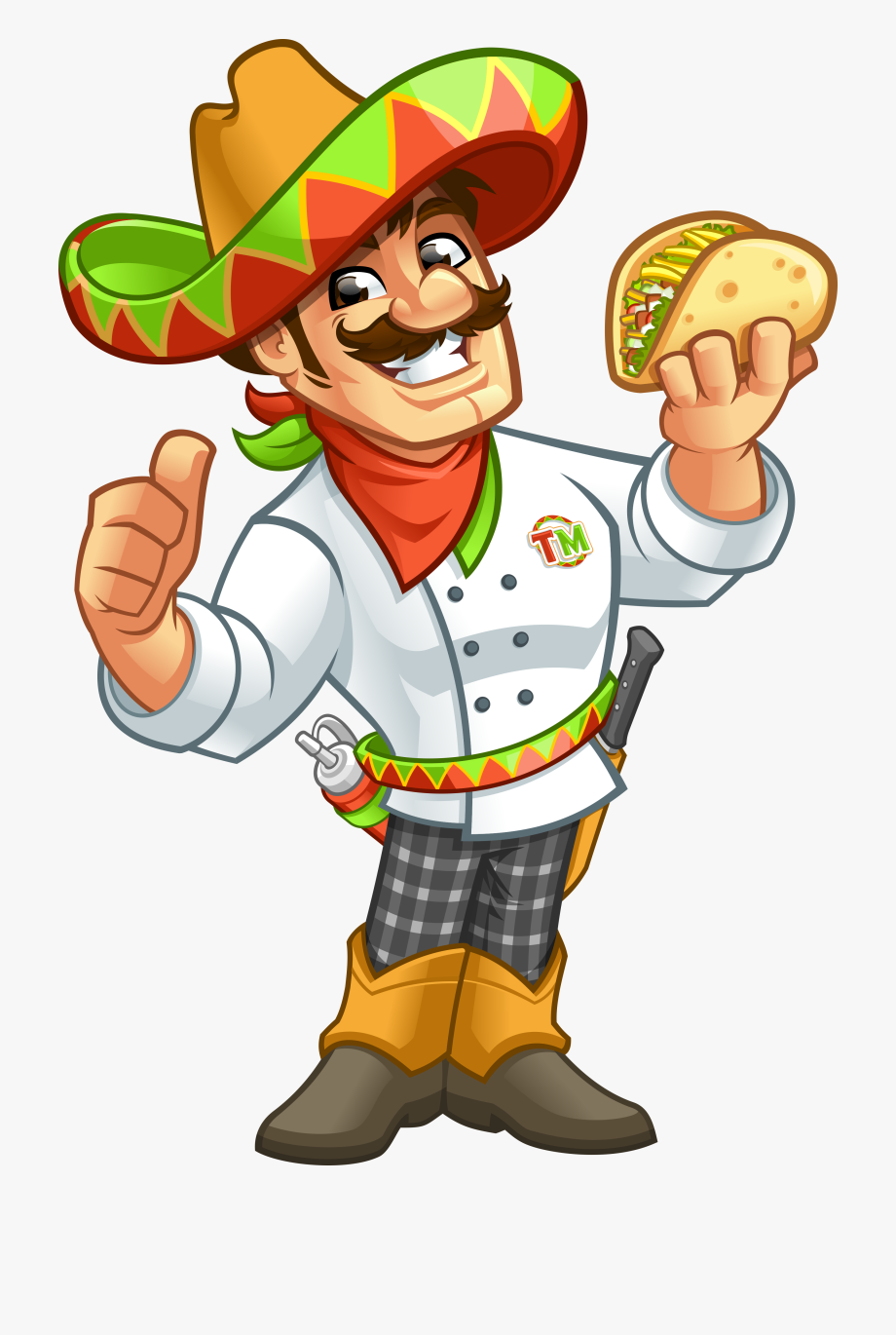 Beach mexican guy clipart picture library My Taco Man Staff Mexican Man Png - My Taco Man, Cliparts & Cartoons ... picture library