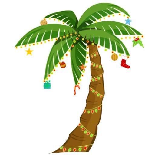 Beach palm tree christmas clipart banner download Palm Tree Clipart | Free download best Palm Tree Clipart on ... banner download