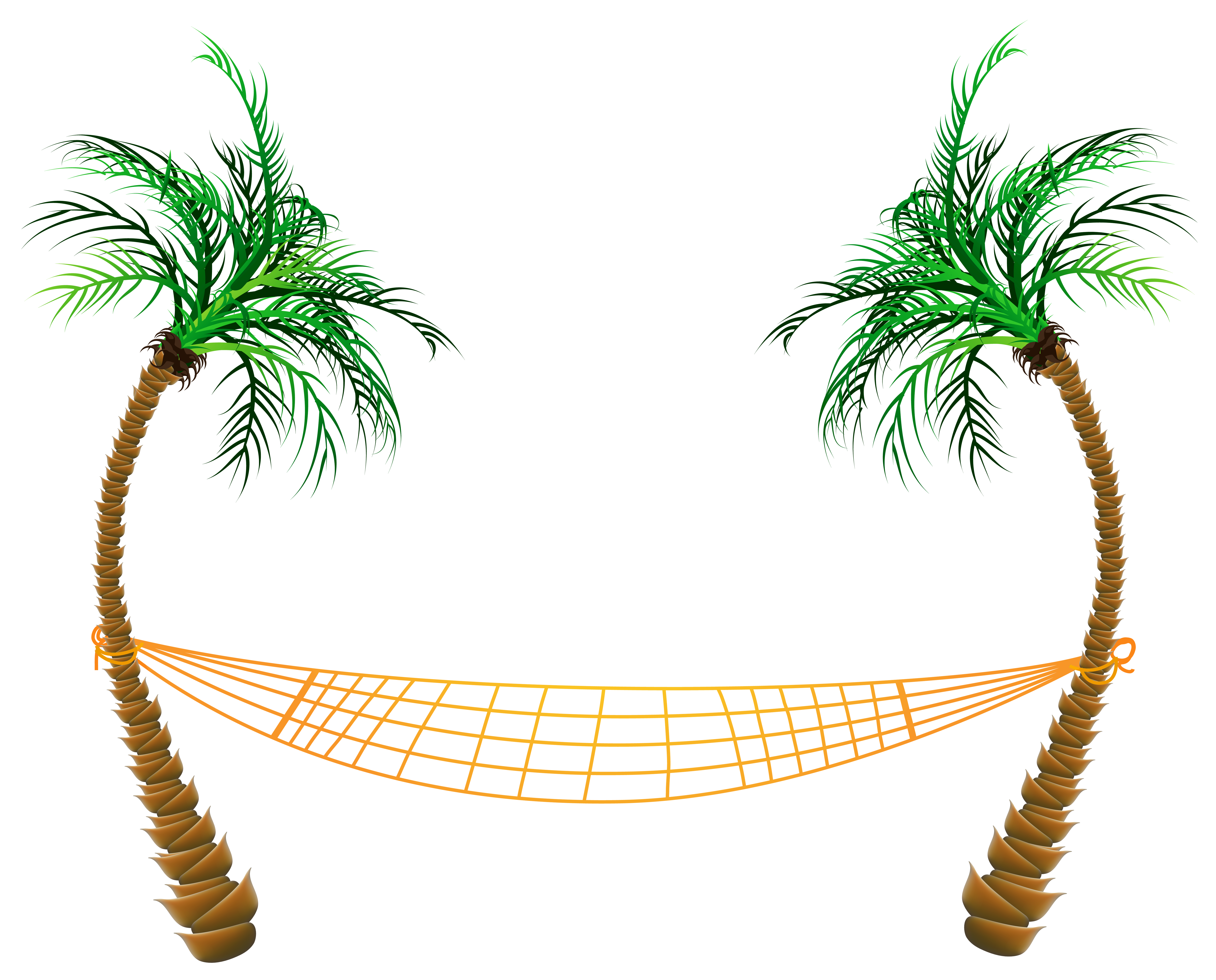 Palm tree background clipart banner stock Transparent Palm Beach Hammock PNG Clipart | Gallery Yopriceville ... banner stock