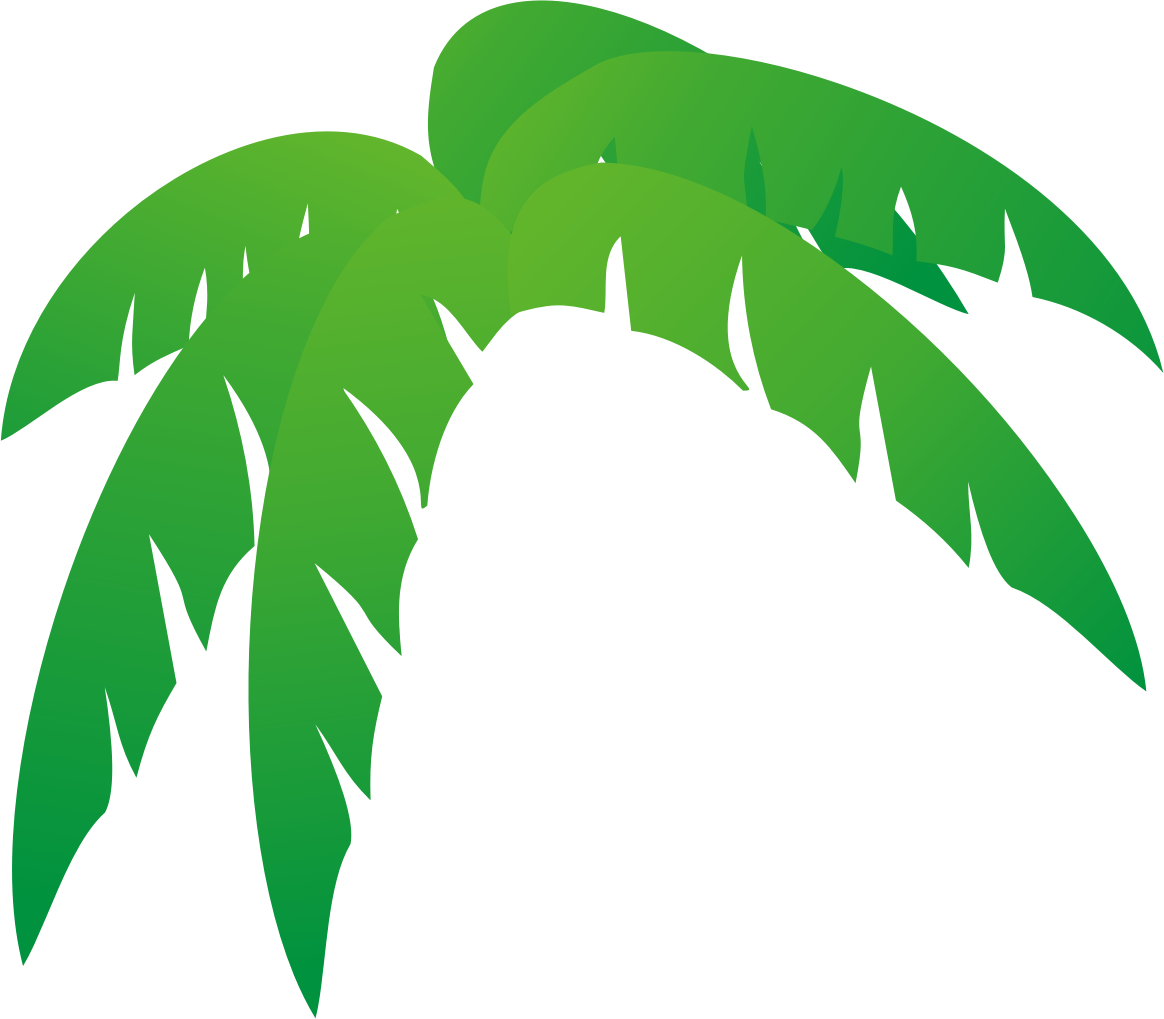 Jungle tree clipart svg library library Palm Tree Leaves Clipart at GetDrawings.com | Free for personal use ... svg library library