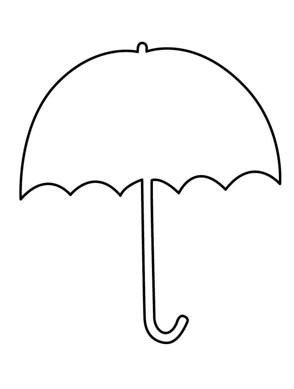 Beach primary color umbrella clipart banner transparent library Umbrella Clipart Coloring Pages | Alkuopetusideat | Umbrella ... banner transparent library