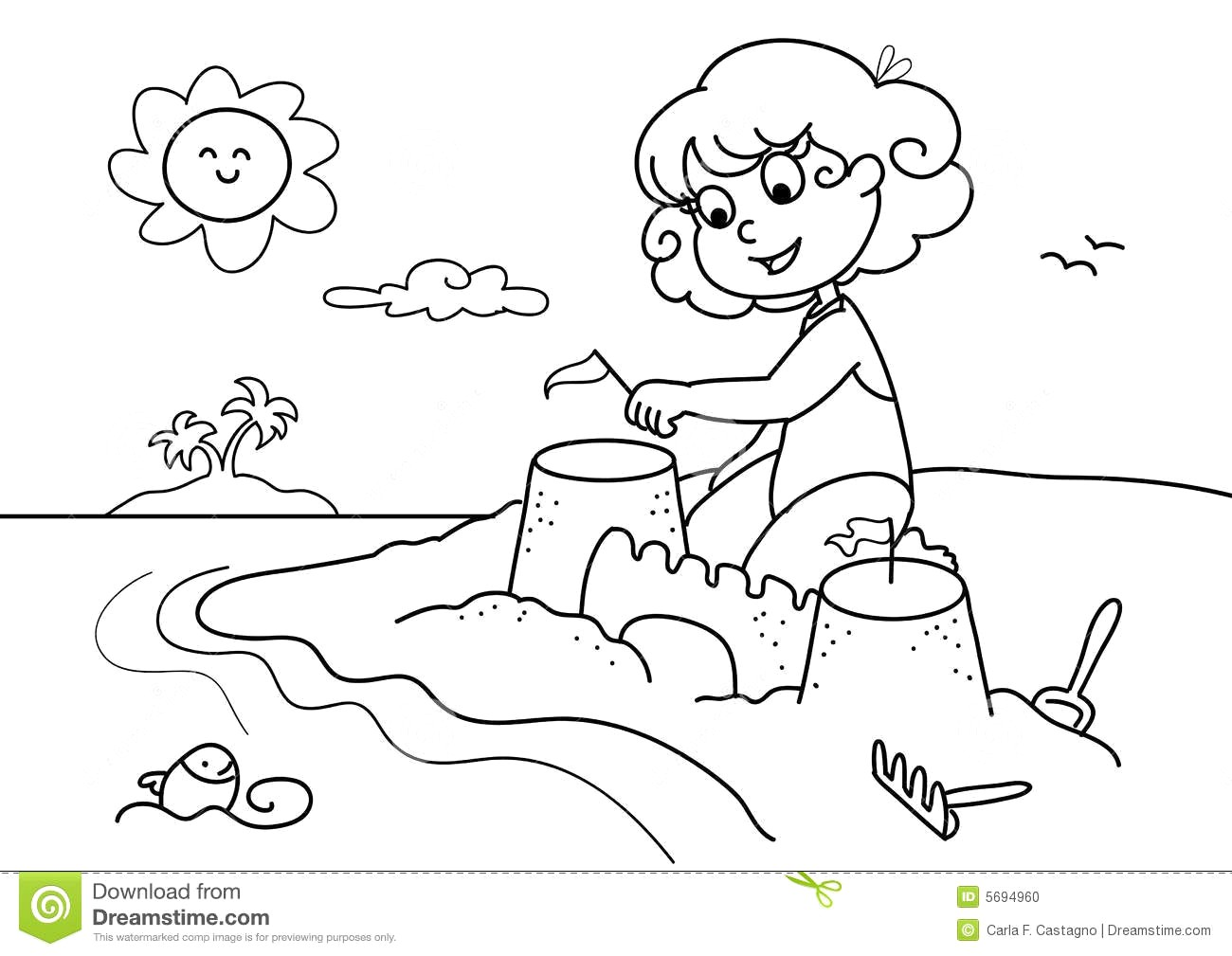 Beach sand clipart black and white clipart vector Beach clipart black and white 5 » Clipart Station vector