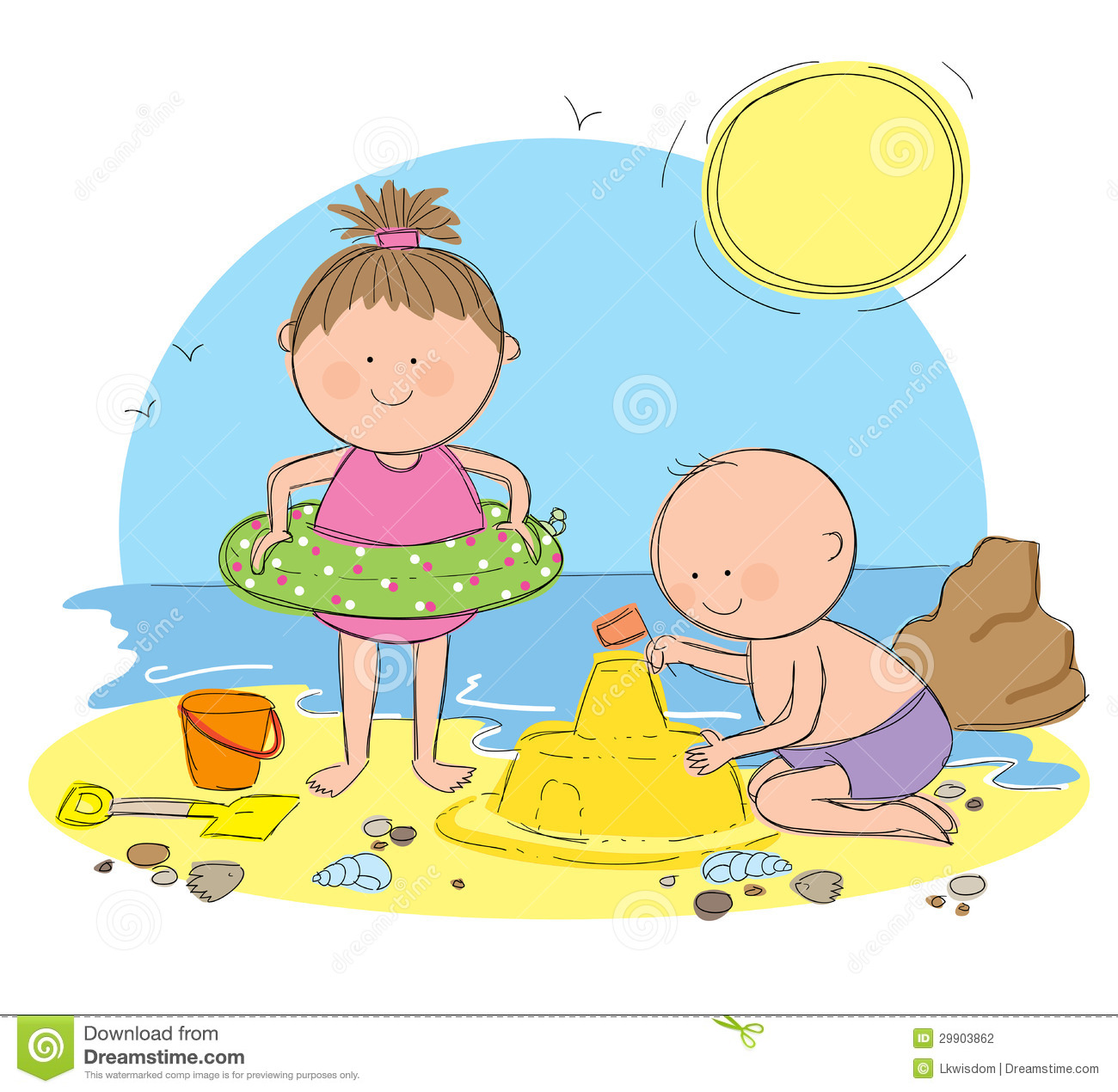 Beach sandcastle clipart clip art download Free Sand Castle Cliparts, Download Free Clip Art, Free Clip Art on ... clip art download