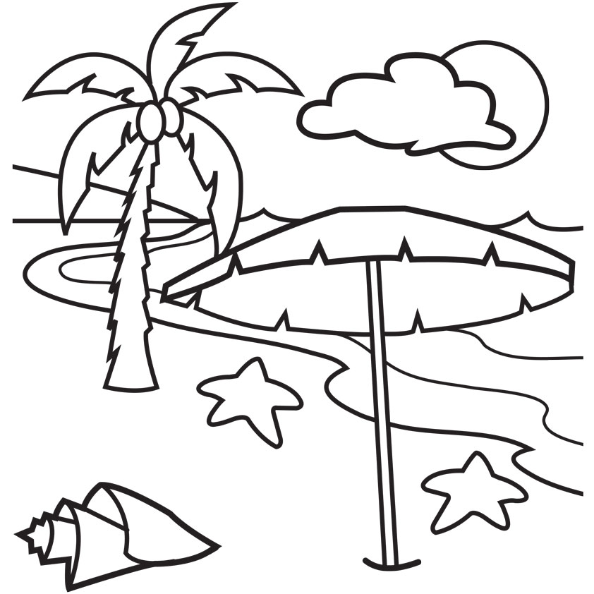 Kid and surfboard black and white clipart clipart free Black And White Beach Clipart | Free download best Black And White ... clipart free