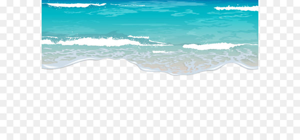 Beach shore clipart picture royalty free download Shore Blue Wave Sea Sky - Sea Beach Ground PNG Clipart - Nohat picture royalty free download