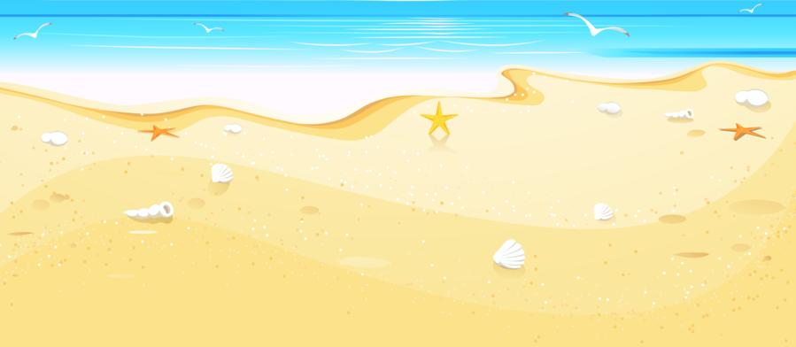 Beach shore clipart vector royalty free stock Beach Cartoon clipart - Beach, Sand, Sky, transparent clip art vector royalty free stock