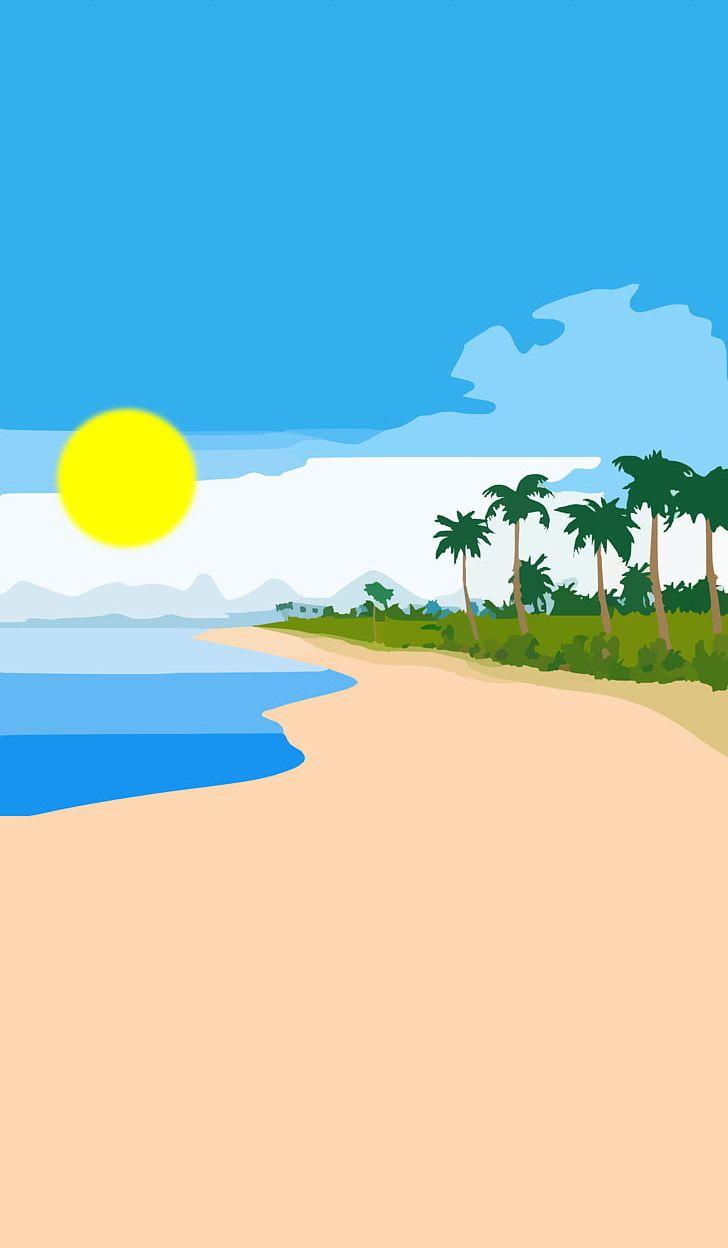 Beach shore clipart graphic freeuse Hawaiian Beaches Sandy Beach Florida Beach Shore PNG, Clipart, Area ... graphic freeuse