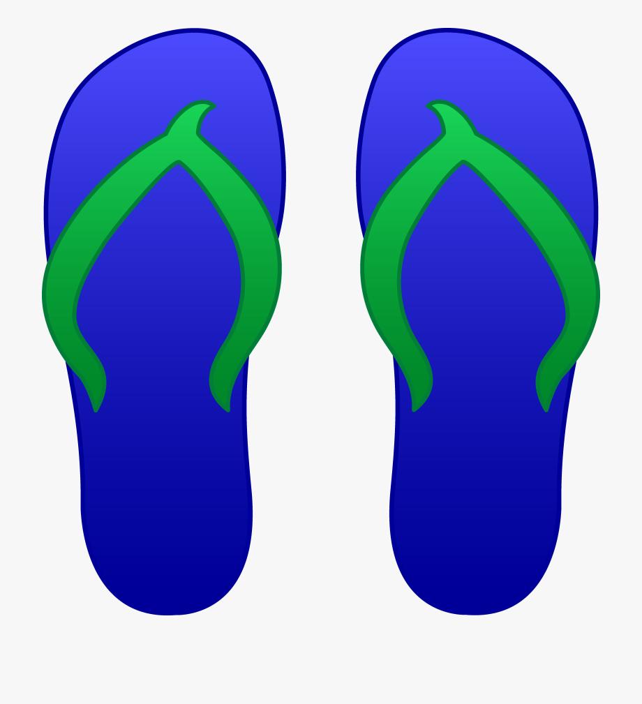 Beach slippers clipart vector transparent stock Beach Sandals Clipart - Clip Art Flip Flops, Cliparts & Cartoons ... vector transparent stock