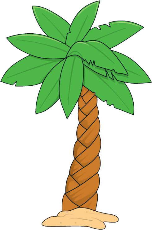 Palm tree clipart border png free library A Snake in the Grass and Demon in the Palm Tree! By Fayeza Khan ... png free library