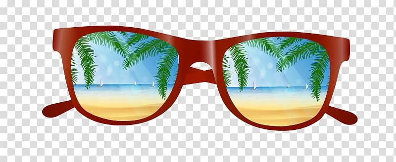 Beach sunglasses clipart clipart library stock Red framed sunglasses , Beach Computer file, Sunglasses transparent ... clipart library stock