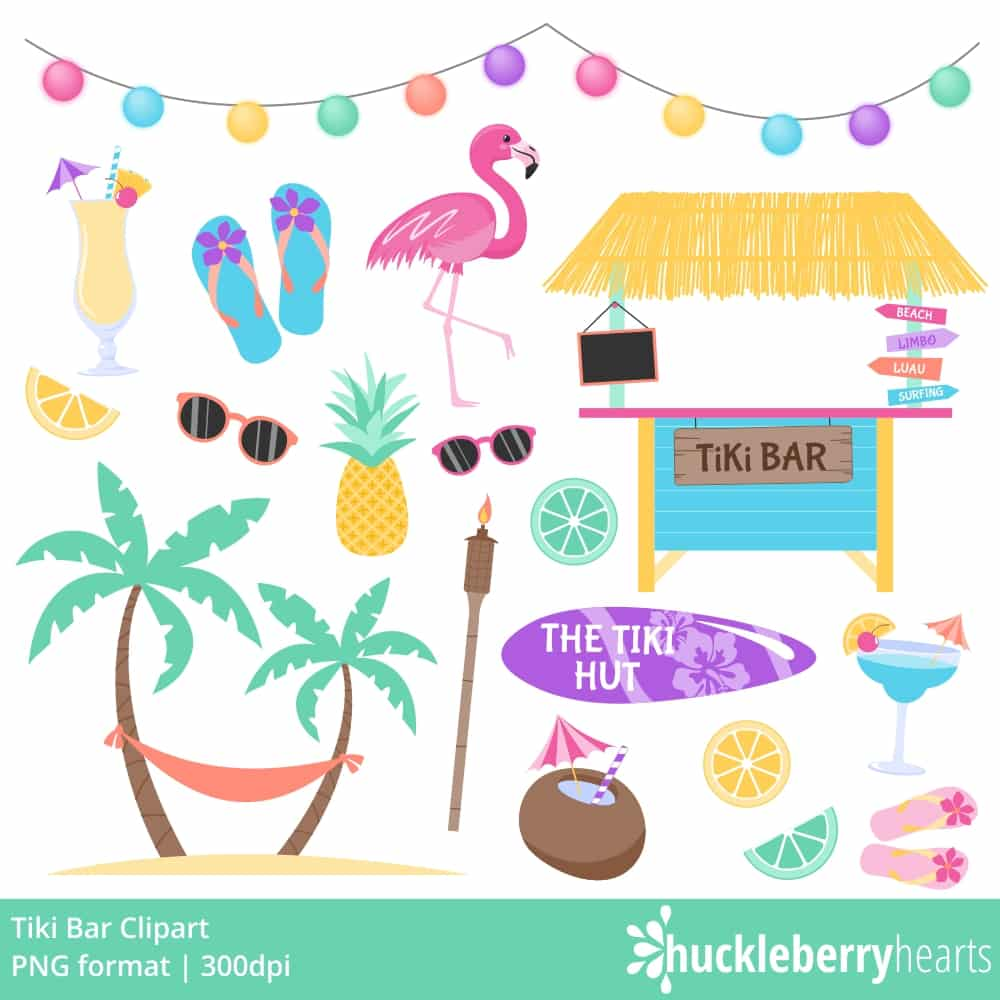 Beach themed cliparts image transparent stock Tiki Clipart image transparent stock