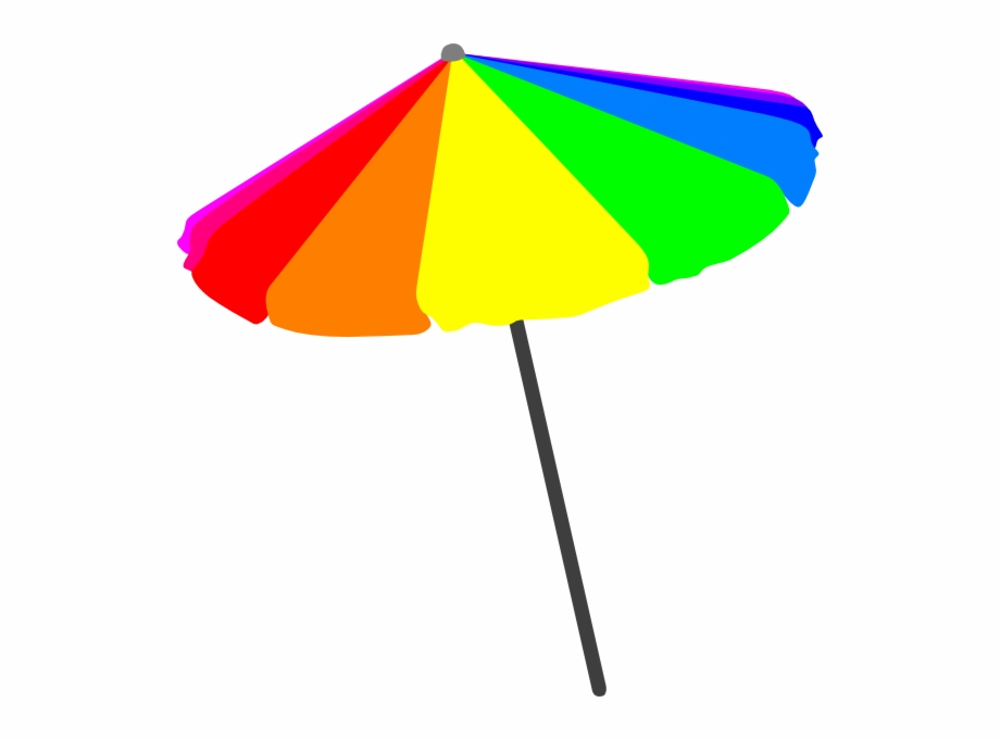 Beach umbrella clipart png transparent stock Beach Umbrella Vector Png - Clip Art Beach Umbrella Png Free PNG ... png transparent stock