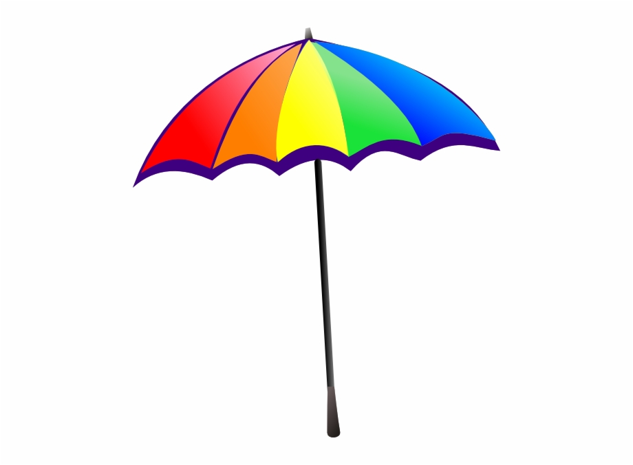 Beach umbrella clipart svg transparent download Beach Umbrella Clipart - umbrella png, Free PNG Images & Backgrounds ... svg transparent download
