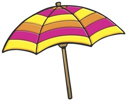 Beach umbrella clipart graphic library download Free Beach Umbrella Cliparts, Download Free Clip Art, Free Clip Art ... graphic library download