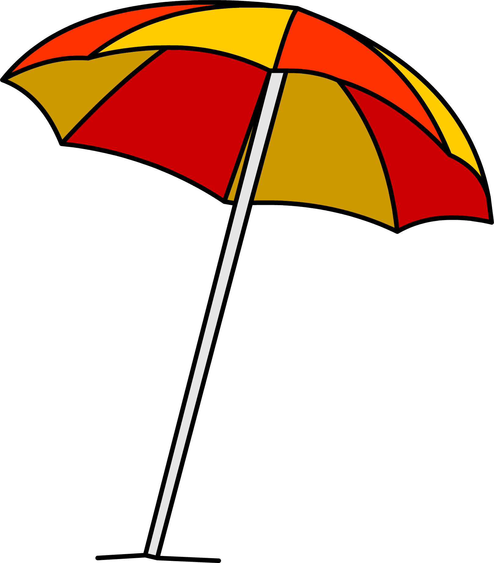 Beach umbrella with sun clipart picture library stock Beach Umbrella Cartoon (36+) Desktop Backgrounds picture library stock