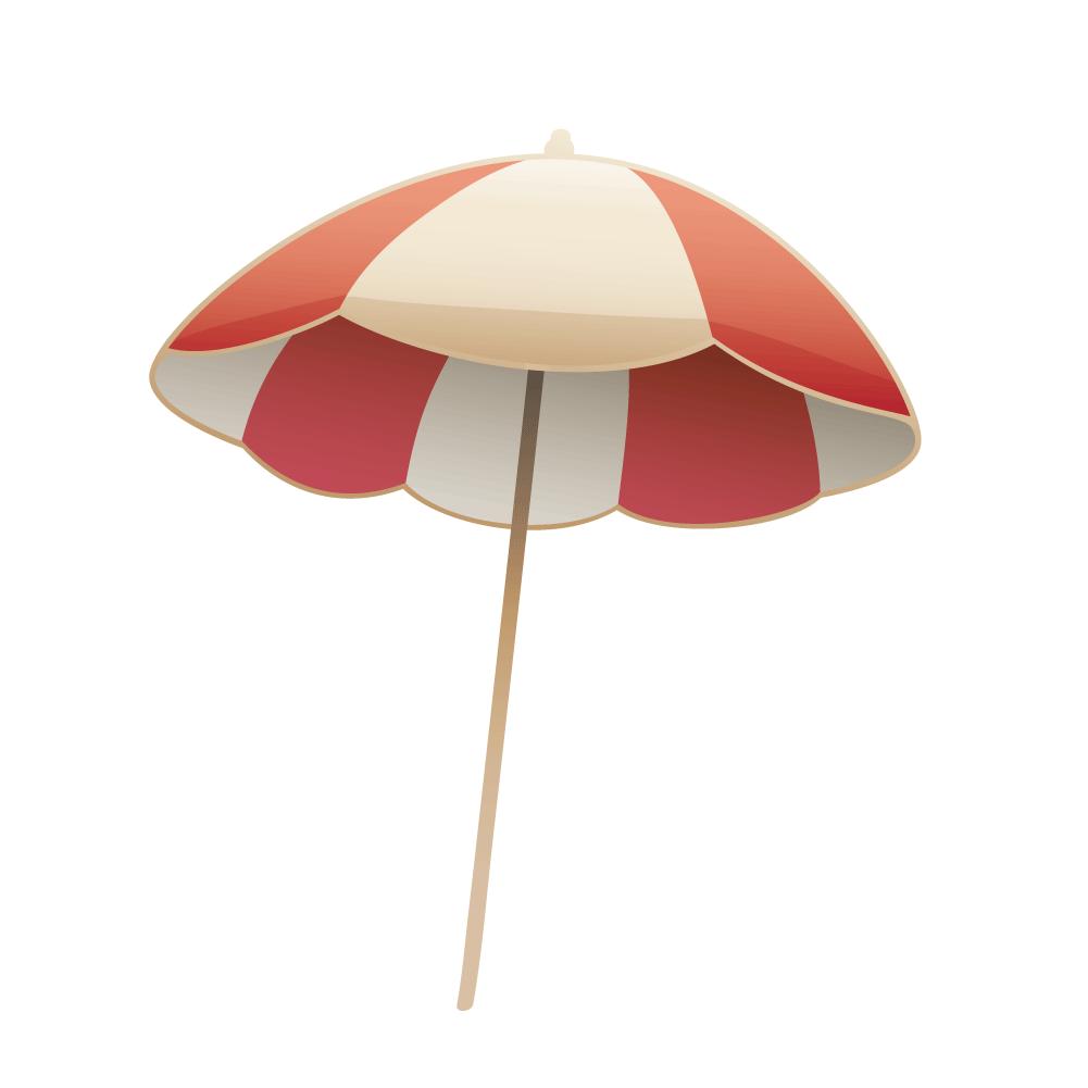 Beach umbrella with sun clipart image royalty free library Umbrella Beach Euclidean vector - Vector summer beach umbrellas 1001 ... image royalty free library