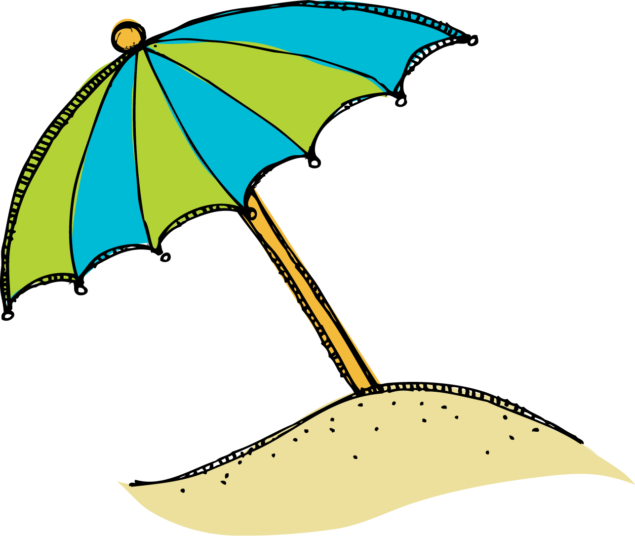 Beach umbrella with sun clipart svg transparent 28+ Collection of Beach Clipart | High quality, free cliparts ... svg transparent