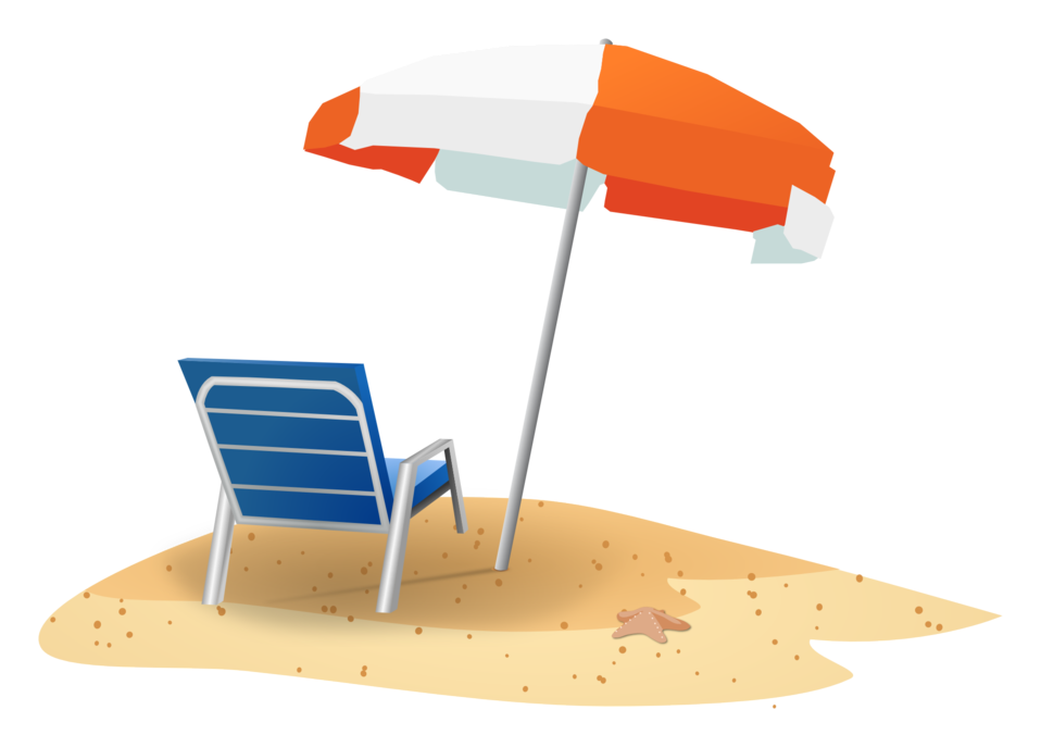 Beach umbrella with sun clipart png library stock Public Domain Clip Art Image | Beach Scene | ID: 13920117612050 ... png library stock