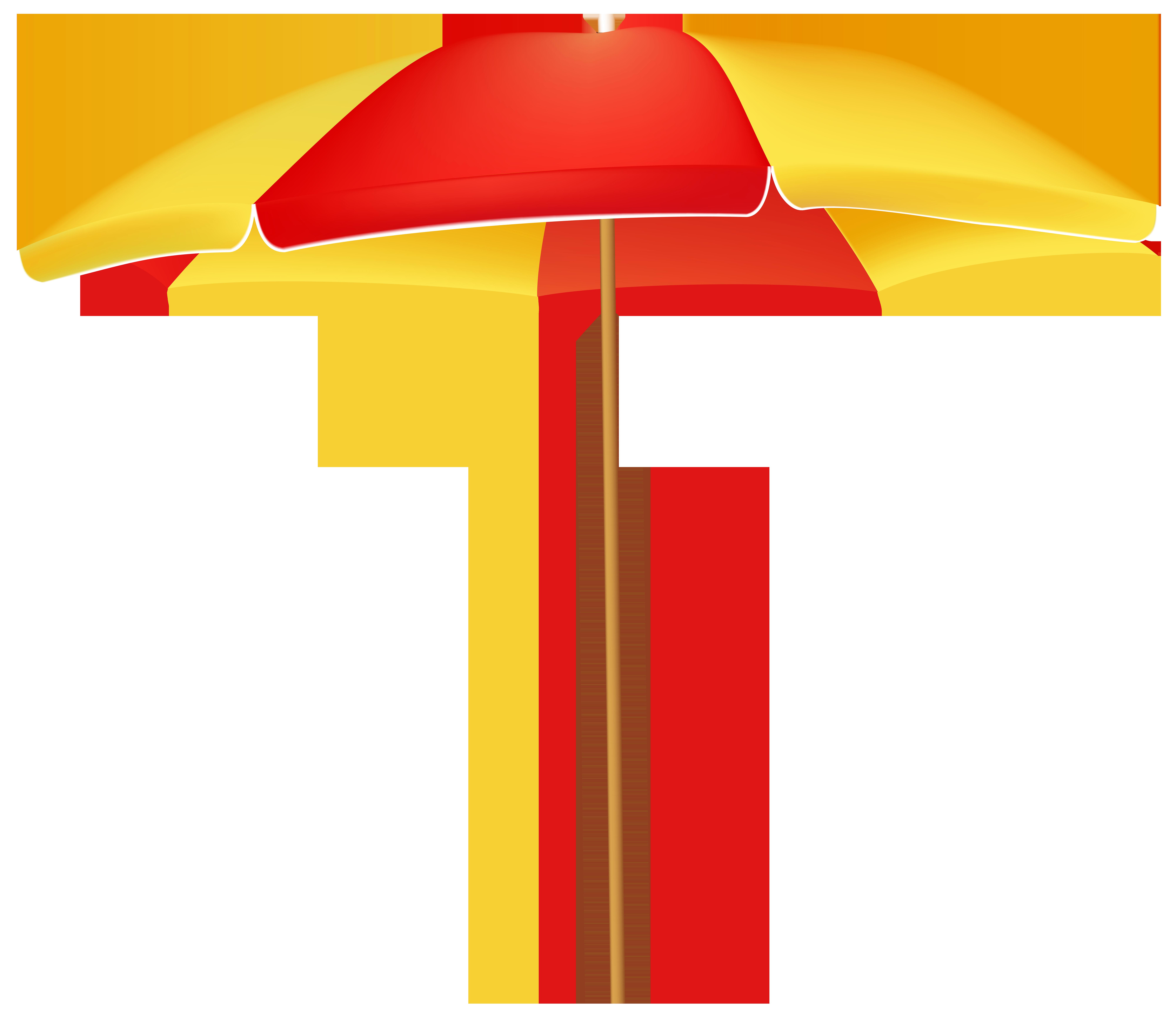 Beach umbrella with sun clipart banner freeuse stock Beach Umbrella PNG Clip Art - Best WEB Clipart banner freeuse stock