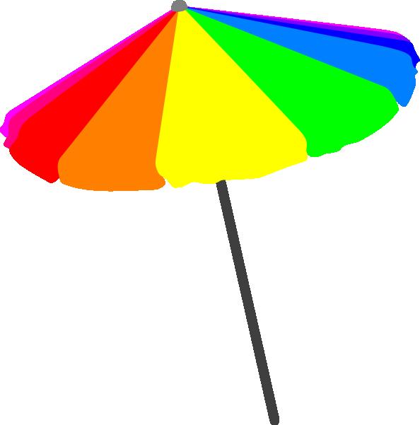 Sun umbrella clipart transparent stock Beach Umbrella, Primary Clip Art at Clker.com - vector clip art ... transparent stock