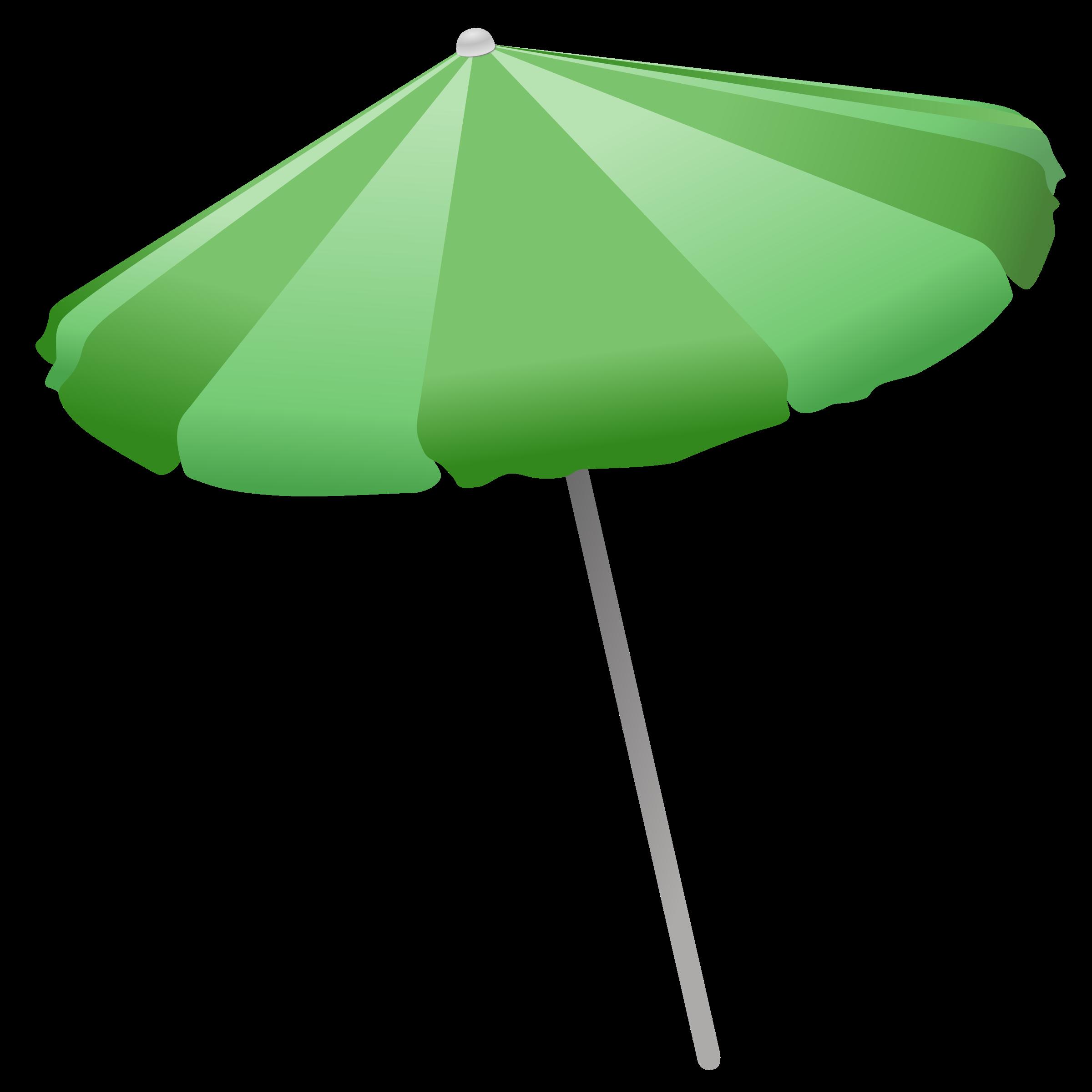Beach umbrella with sun clipart vector library stock Clipart - Beach Umbrella vector library stock