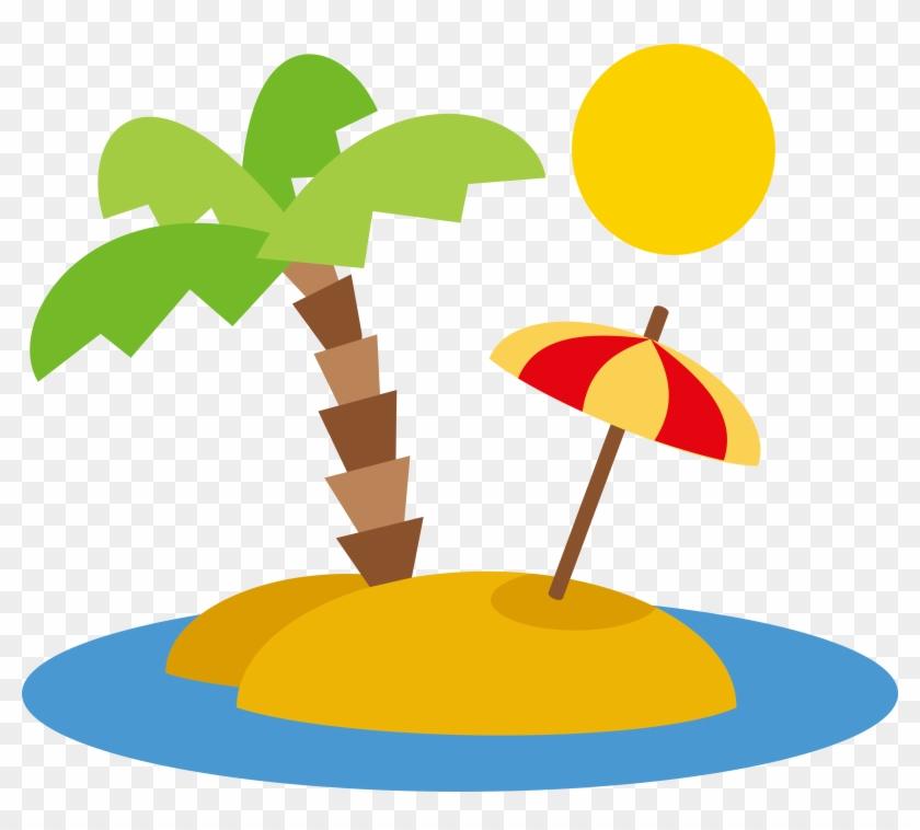 Beach vector clipart png freeuse Beach Euclidean Vector Clip Art - Beach Vector Png - Free ... png freeuse
