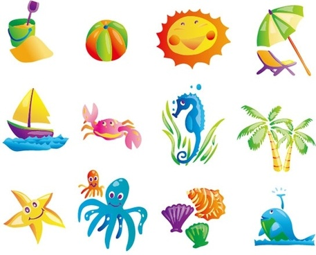 Beach vector clipart graphic transparent library Beach free vector download (906 Free vector) for commercial use ... graphic transparent library