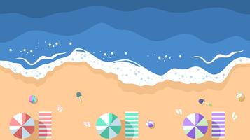 Beach view clipart picture download Aerial Beach View Free Vector Art - (80 Free Downloads) picture download
