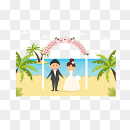 Beach wedding images clipart clip free download Free Beach Wedding Png & Free Beach Wedding.png Transparent Images ... clip free download