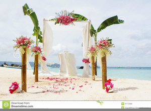 Beach wedding images clipart black and white Free Beach Wedding Clipart | Free Images at Clker.com - vector clip ... black and white