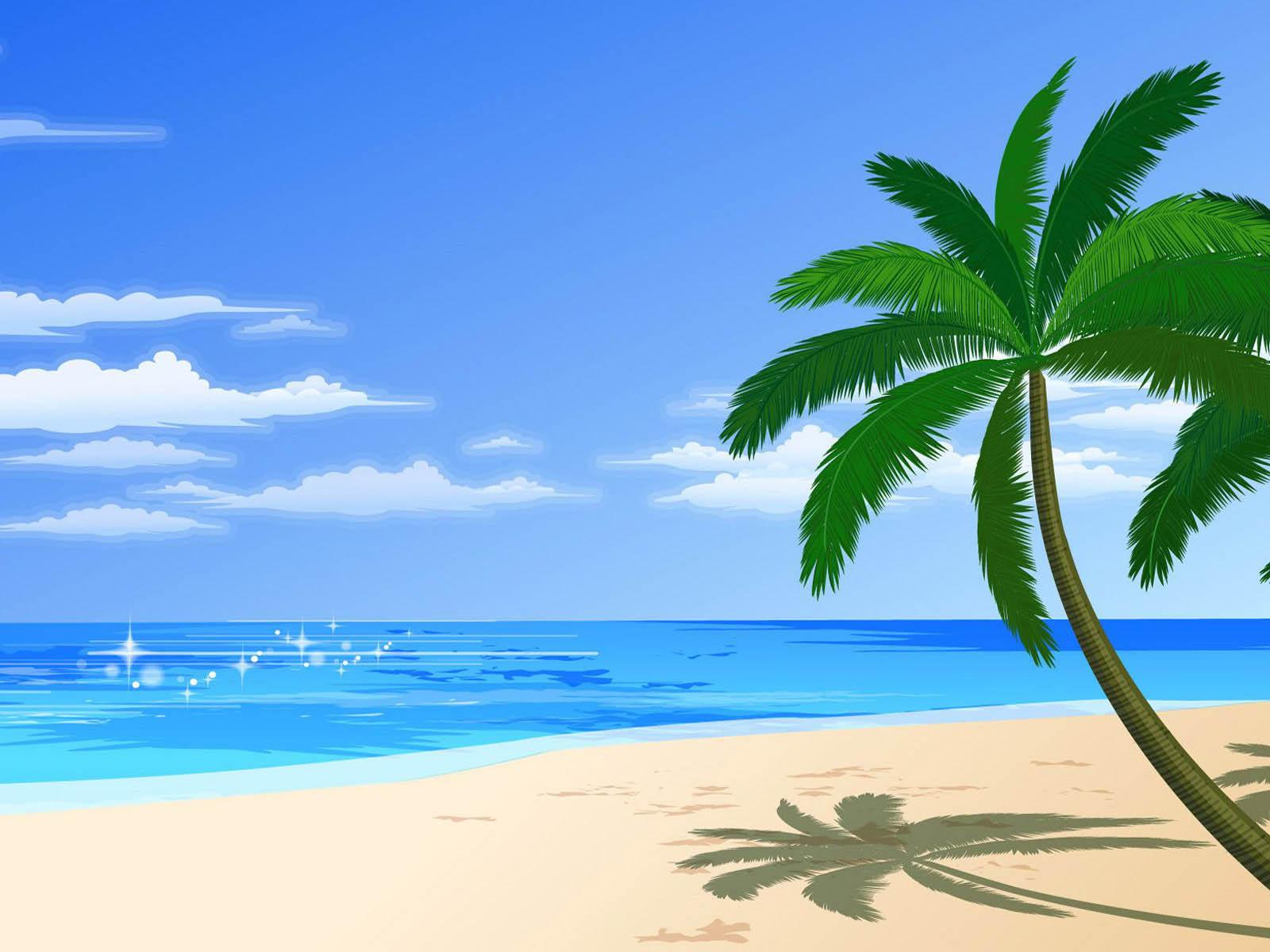 Free clipart beach scenes graphic transparent download Free Tropical Beach Cliparts, Download Free Clip Art, Free Clip Art ... graphic transparent download