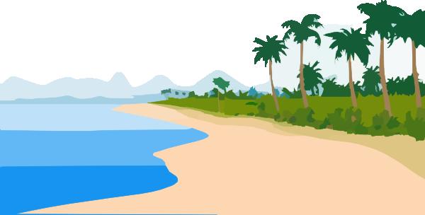 Beachfront clipart vector free stock Beachfront Clip Art at Clker.com - vector clip art online, royalty ... vector free stock