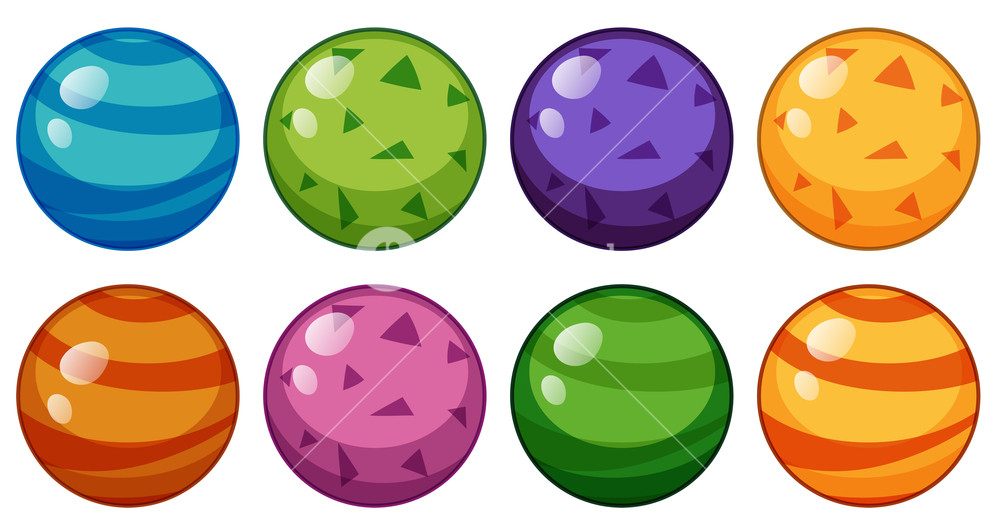Beads purple green clipart image black and white stock Round beads in different design Royalty-Free Stock Image ... image black and white stock