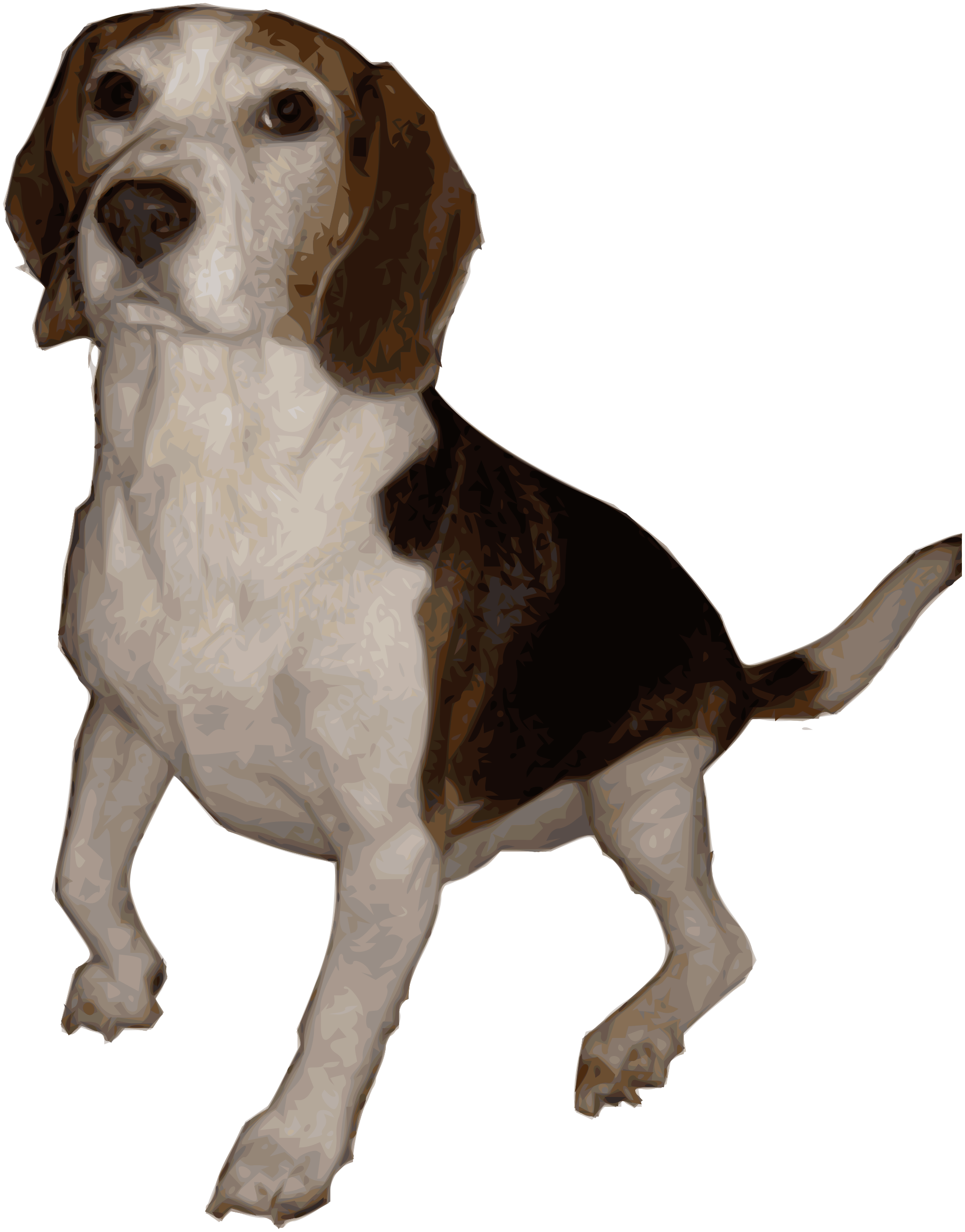 Beagle dog clipart graphic freeuse download Clipart - Beagle Medium Version graphic freeuse download