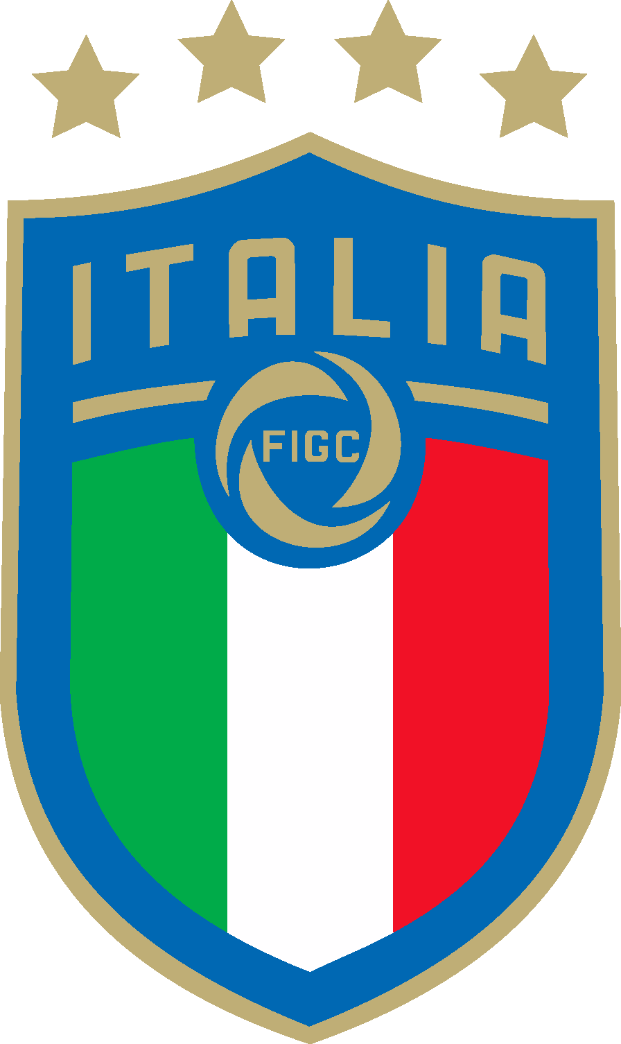 Football clipart eps. Italian federation italy national