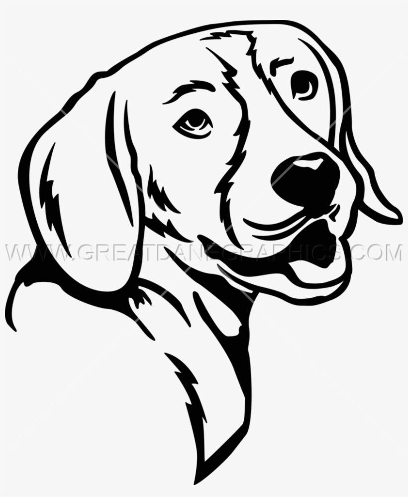 Beagles clipart black and white svg transparent stock Black And White Beagle Clip Art svg transparent stock