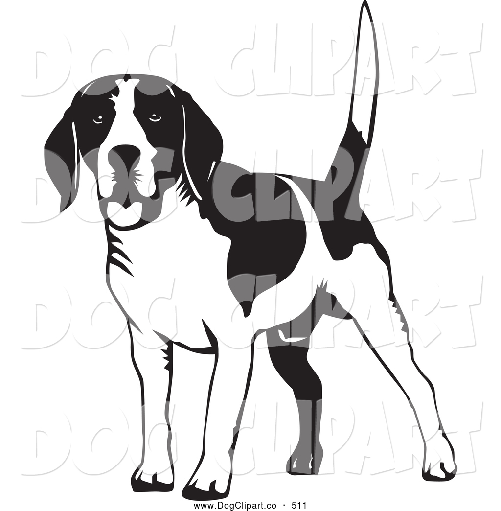 Beagles clipart black and white clip art library library Collection of Beagle clipart | Free download best Beagle clipart on ... clip art library library