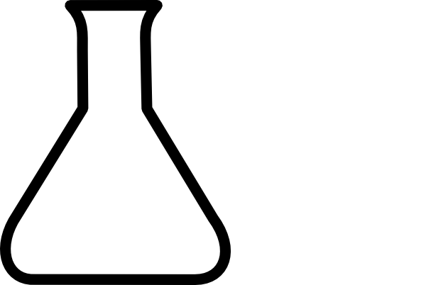 Free beaker clipart.  science clip art