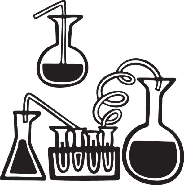 Beakers and test tubes clipart image transparent 273GA - Science with test tubes and beakers | RESEARCH | Science ... image transparent