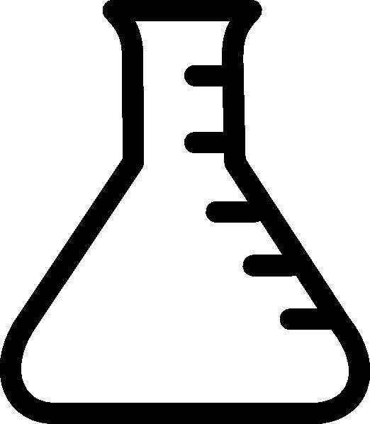 White clipart beaker banner freeuse stock chemistry beaker coloring page | Empty Beaker clip art - vector clip ... banner freeuse stock