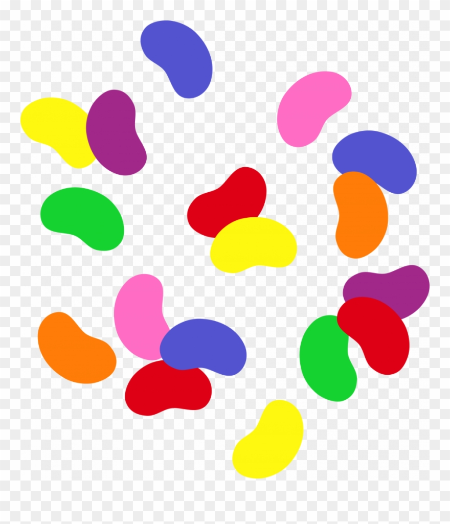 Jellybeans clipart image free download Download Jelly Bean Clip Art - Jumping Beans Clip Art - Png Download ... image free download
