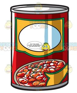 Bean can clipart jpg transparent A Can Of Baked Beans jpg transparent