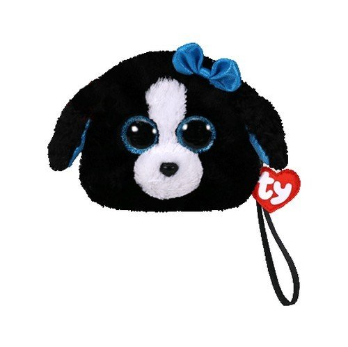 Beanie boos dog tracy clipart banner black and white Amazon.com: Ty Tracey - Wristlet: Toys & Games banner black and white