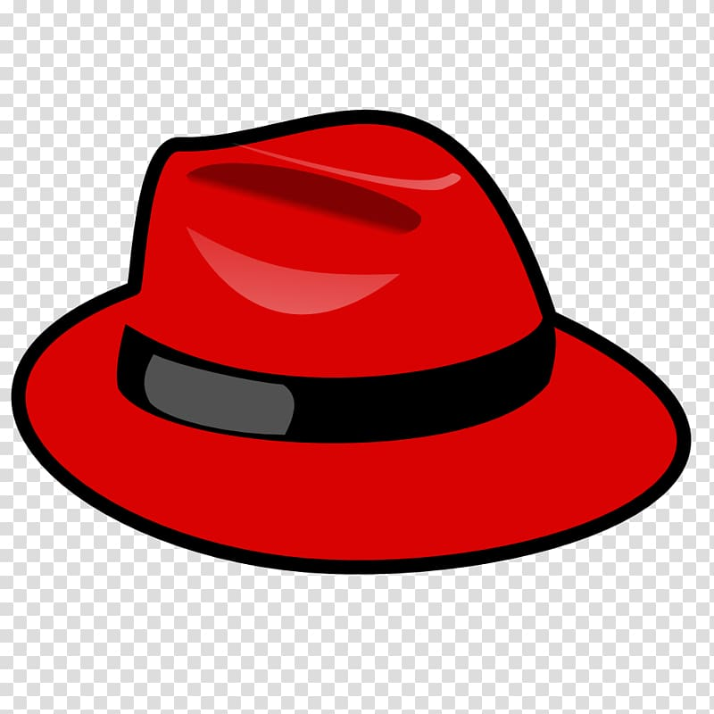 Beanie clipart red image transparent stock Red Hat Linux Red Hat Enterprise Linux Fedora Computer Software ... image transparent stock
