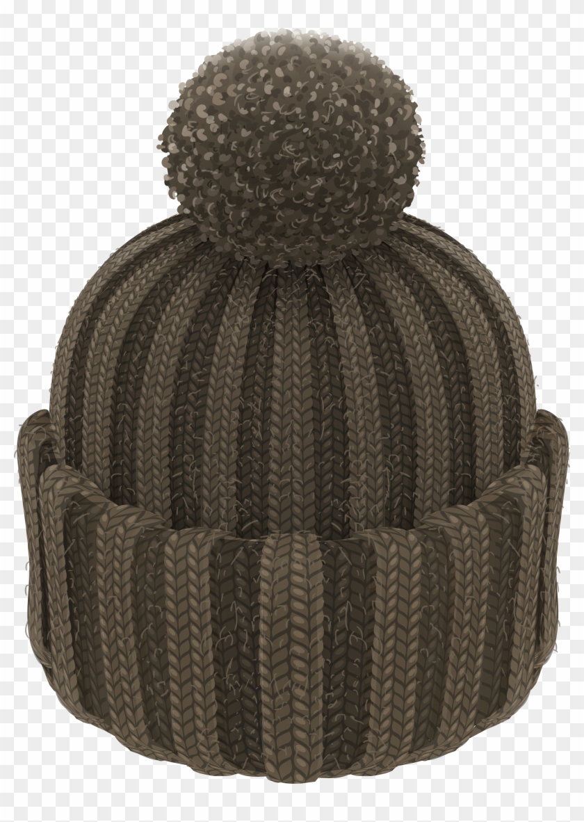 Beanie hat clipart freeuse download Pom Pom Beanie Hat Png Clipart - Transparent Background Winter Hat ... freeuse download
