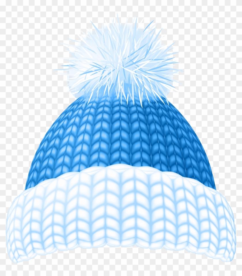 Beanie hat clipart clip art library stock Blue Winter Hat Clip Art Image - Winter Hat Clipart Png, Transparent ... clip art library stock