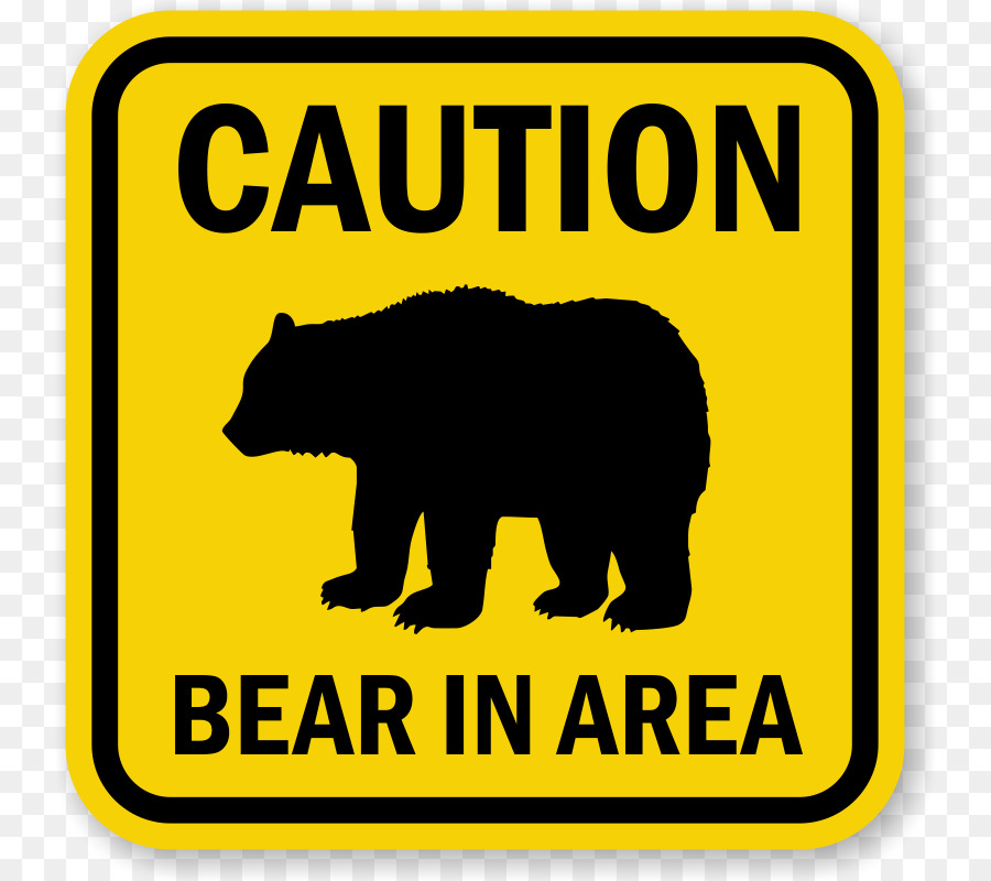 Bear and sign clipart vector royalty free download Bear Cartoon clipart - Bear, Sign, Text, transparent clip art vector royalty free download